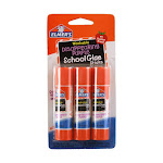 Elmers Disappearing Purple School Glue Sticks - 0.21 Oz, 3 Ea