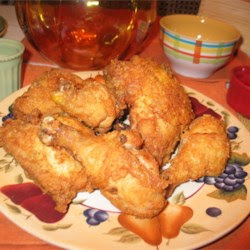 Mom's Old Fashioned Fried Chicken Recipe