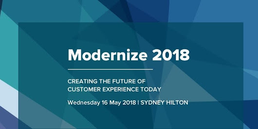 Modernize 2018 | Digital Marketing and Product Event - Sydney, Australia
