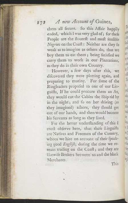 A New Account Of Some Parts Of Guinea & The Slave Trade -Page 172