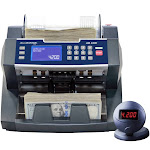 Accubanker AB4000 MGUV - Cash Teller with UV and MG Detection - 220V - 50HZ