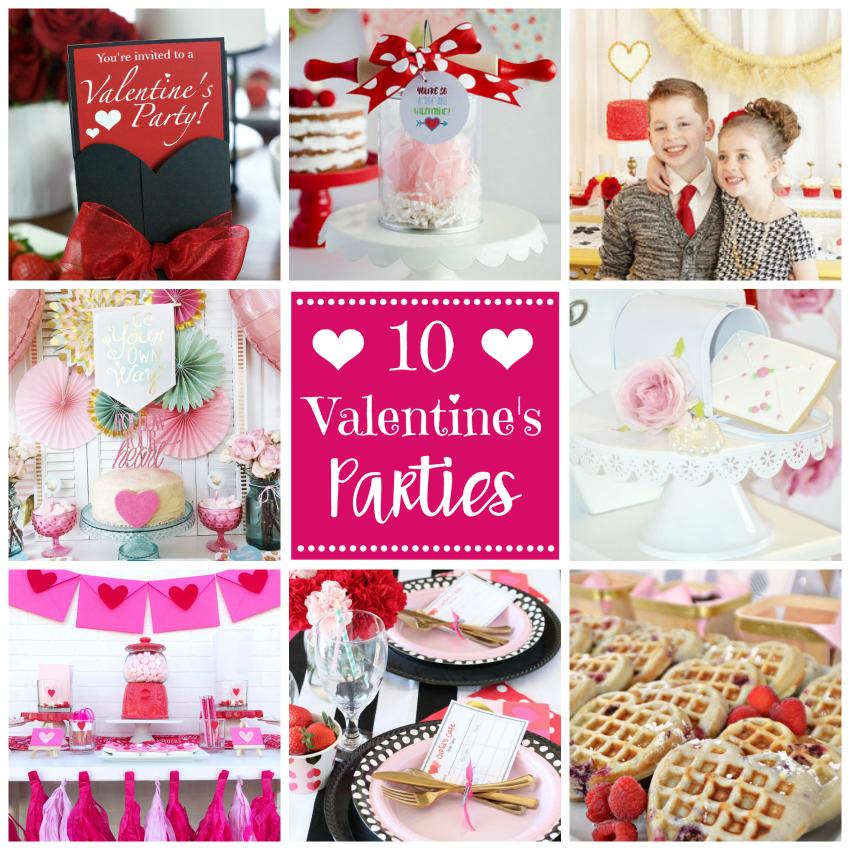 10 Valentine's Parties
