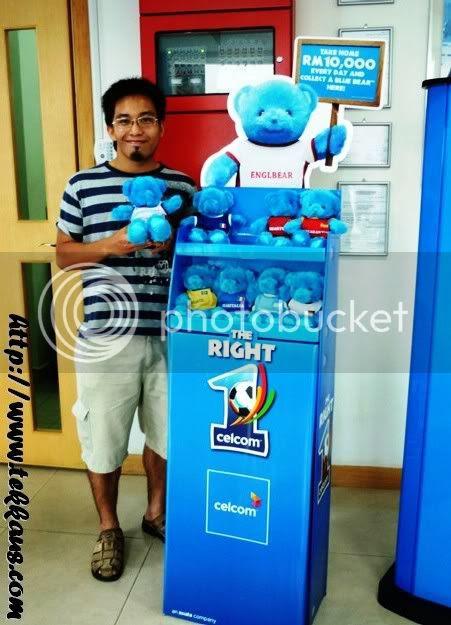 World Cup fever, Celcom Blue Bear