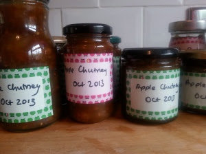 jars of chutney