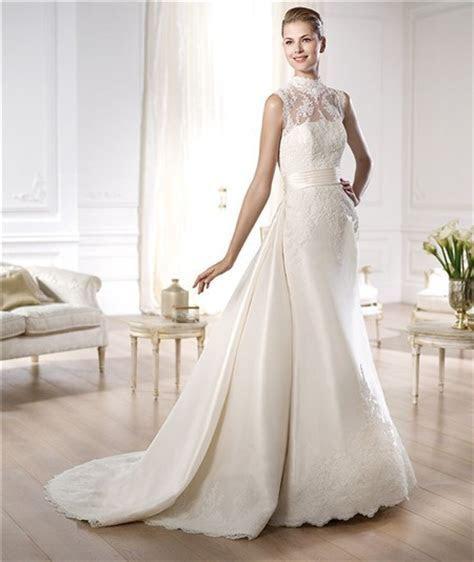 Gorgeous Wedding Dresses with Detachable Train   Sang Maestro