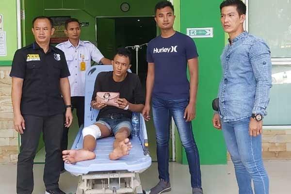 Melawan, Kaki Bandar Sabu Sei Rampah Ditembak