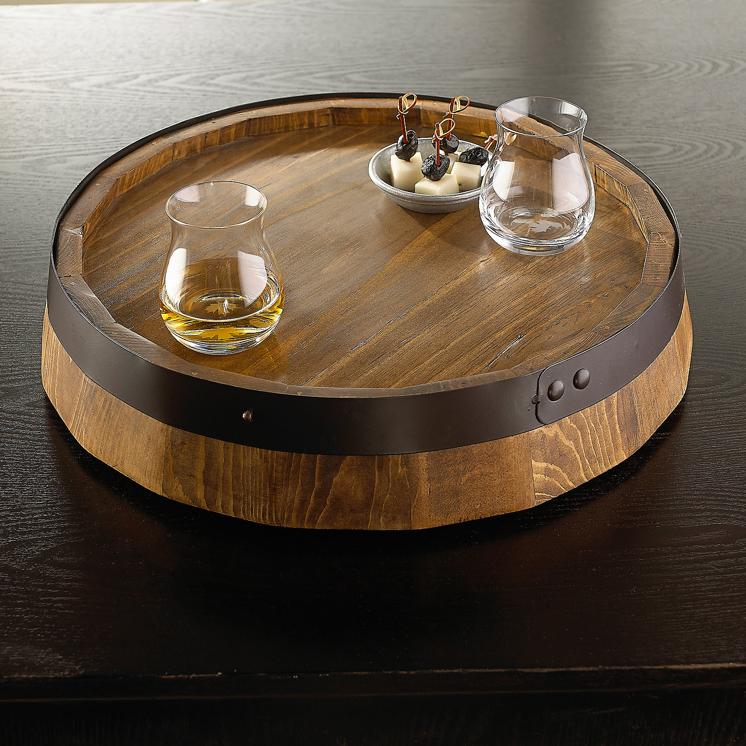 Kitchen Dining Sets Awesome Wine Barrel Lazy Susan For Furniture