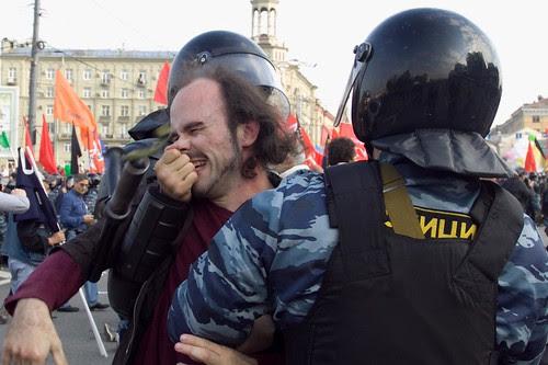"""Задержание участника """"Марша миллионов"""" в Москве 6 мая 2012 by hegtor"""