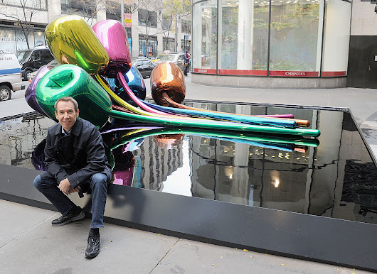 Former Pompidou President Calls Jeff Koons's 'Flashy' Gift to Paris a 'Poisoned Chalice' | artnet News