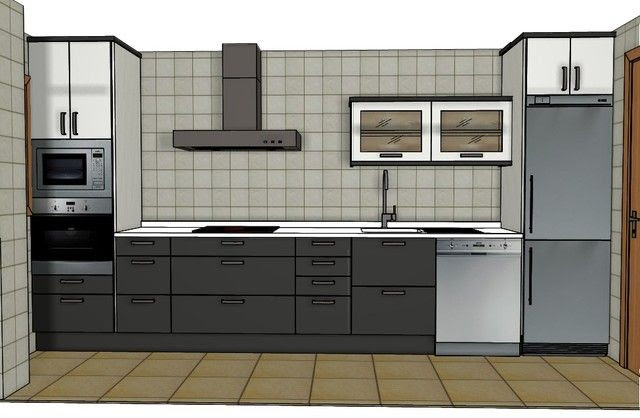 Realizar el dise\u00f1o de mi cocina