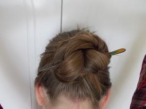 Aschblondines Haar Blog Dutts Und Frisuren Für Eher Kurzes Haar
