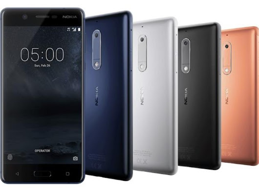 Nokia Launches Nokia 5, A Budget Android Phone With 3 GB RAM - Getting Geek