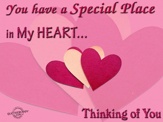 You Have A Special Place In My Heart Love Quote Quotespicturescom