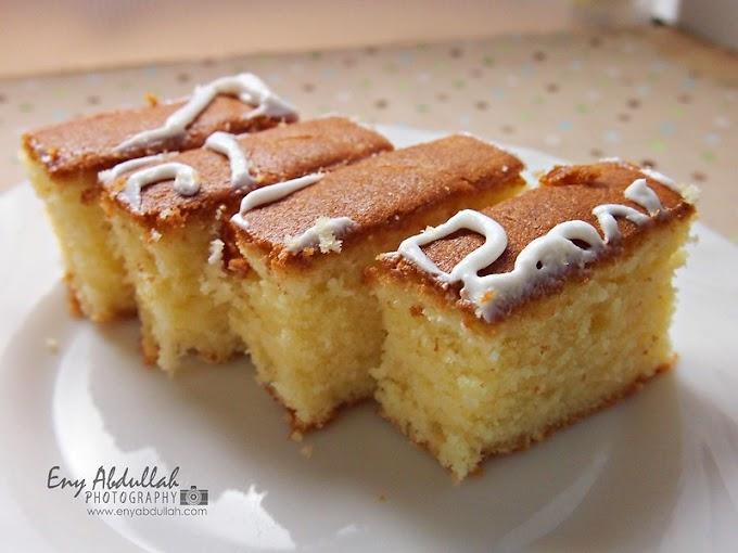 Kek Butter Cheese Lemak Dan Gebu!
