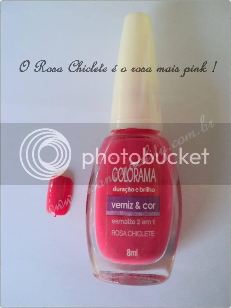 Rosa Chiclete