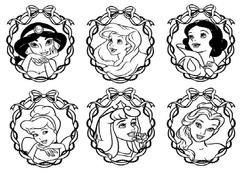 Ausmalbilder Prinzessin 4 Ausmalbilder Kostenlos