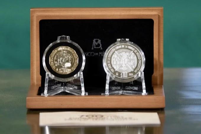 Banxico pone en circulación seis nuevas monedas conmemorativas