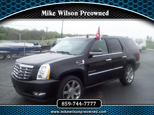 Used 2011 Cadillac Escalade AWD Premium for Sale in Winchester KY 40391 Mike Wilson Preowned