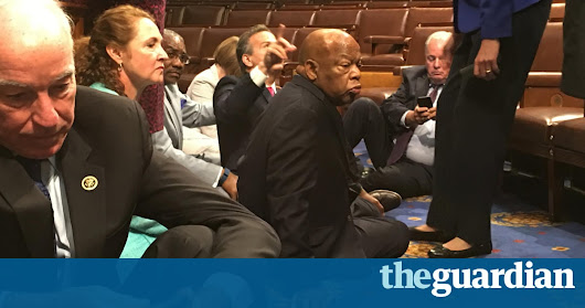 Democrats continue House sit-in demanding vote on gun control | US news | The Guardian