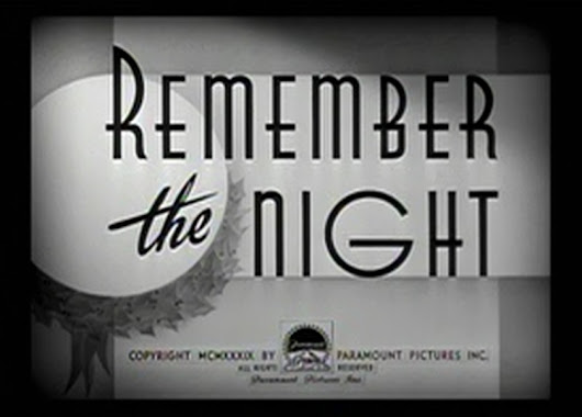 Remember the Night (1940) Starring Barbara Stanwyck and Fred MacMurray