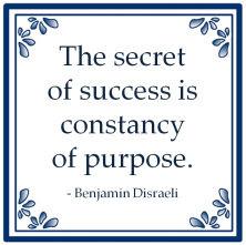 Het Geheim Van Succes Volgens Benjamin Disraeli