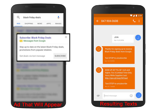 Google AdWords Launches Holiday Snippets & Texts