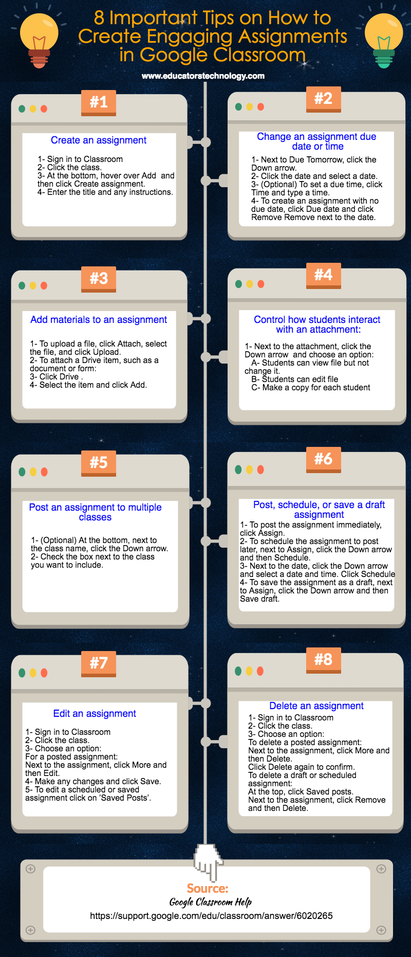 8 Important Tips on How to Create Engaging Assignments in Google Classroom