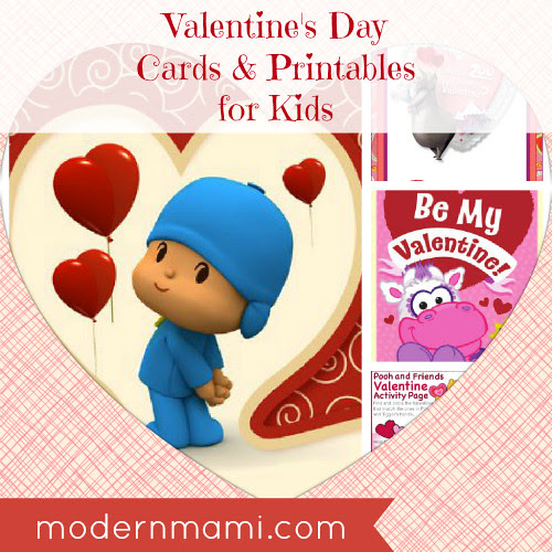 Free Valentine's Day Cards and Printables for Kids | modernmami™