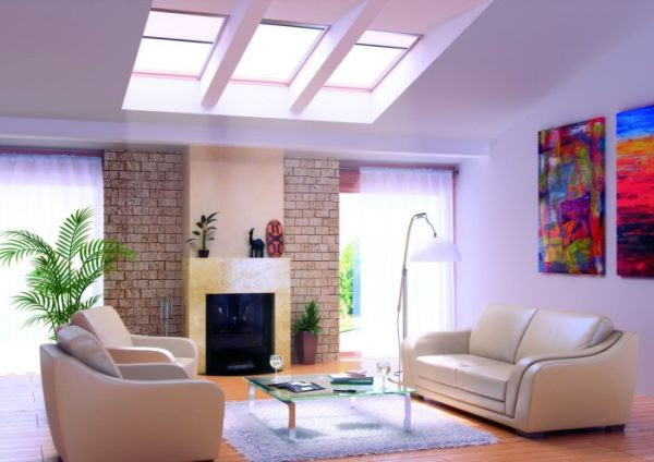 30 Inspirational Ideas for Living Rooms with iSkylightsi