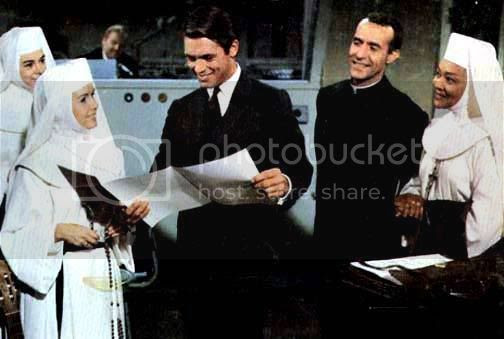 Ricardo Montalban in a scene from 'The Singing Nun'