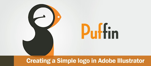 How to Create a Cool and Simple Puffin logo using Adobe Illustrator - DesignOptimal.com