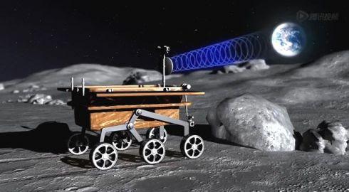 Jipe-Jipe-Robô chinês na Lua
