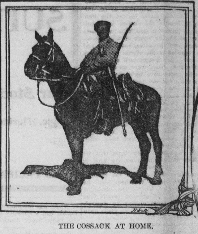 The cossack at home, 1904.jpg