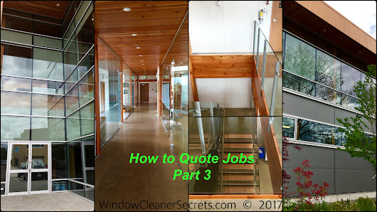 How to Quote Jobs (Part 3) - Window Cleaning Success Secrets