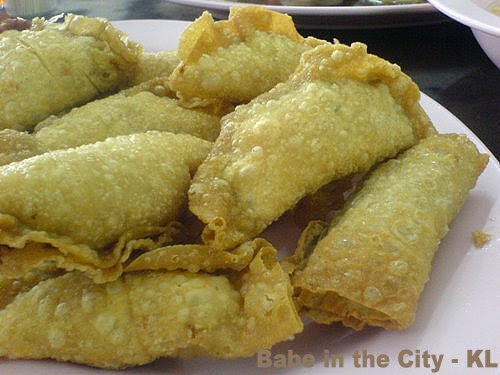 FF - deep fried dumplings and foo chuk