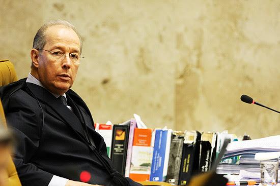 Ministro Celso de Mello no Supremo Tribunal Federal