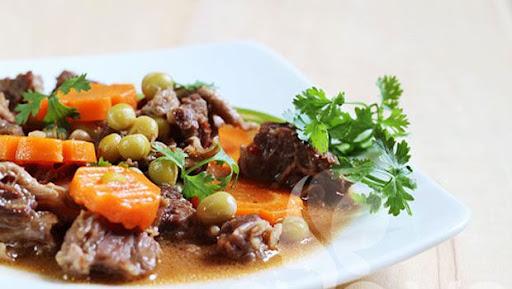 Kết quả hình ảnh cho đậu hầm thịt bò khoai tây