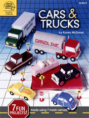 Plastic Canvas Cars & Trucks - Electronic Download