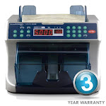 Professional Bill Counter with UV and MG Detection - Accubanker AB5000 PLUS