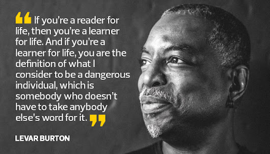 LeVar Burton: Digital Devices Can Embrace Storytelling