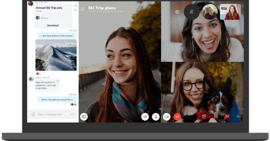 Skype's redesigned desktop app includes drag-and-drop photo sharing