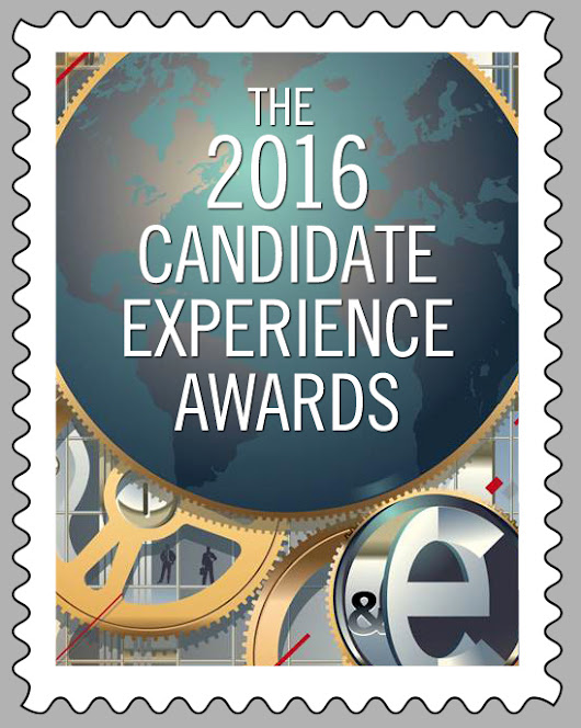 The 2016 North American Candidate Experience Award Winners Announced - Talent Board