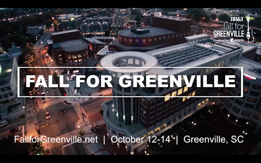 Fall for Greenville is back!
