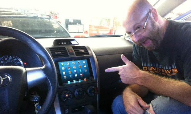 Yes, there is already an iPad Mini installed in a car dashboard