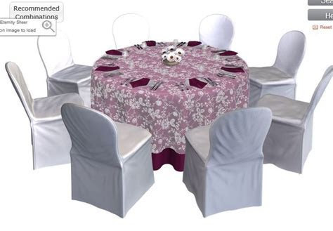 Design your own wedding table at http://www.bbjlinen.com