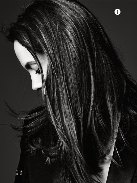 Angelina Jolie by Hedi Slimane Elle US 10