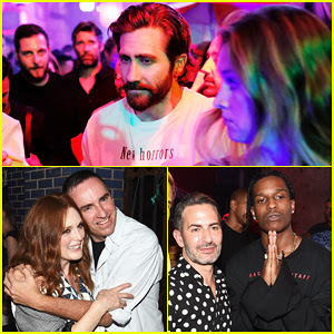 Jake Gyllenhaal & Julianne Moore Bring Star Power To Raf Simons Show During Men's Fashion Week!