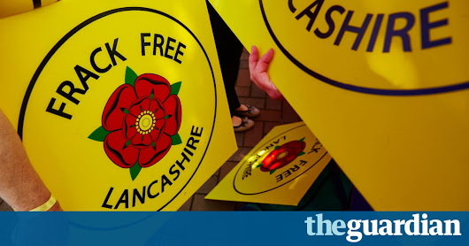 Fracking in UK given go-ahead as Lancashire council rejection overturned | Environment | The Guardian