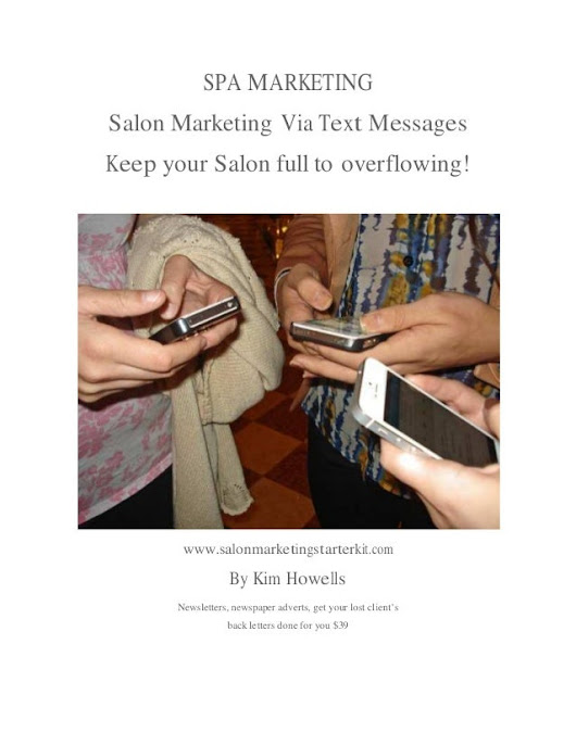 Spa marketing-Using Text Messages Gain More Business