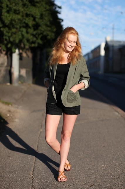Shorts & jacket